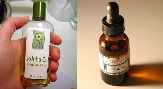 Eucalyptus-Jojoba Oil Blend for Joint Pain Relief