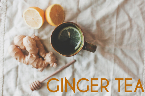 Ginger Tea to Lose Belly fat
