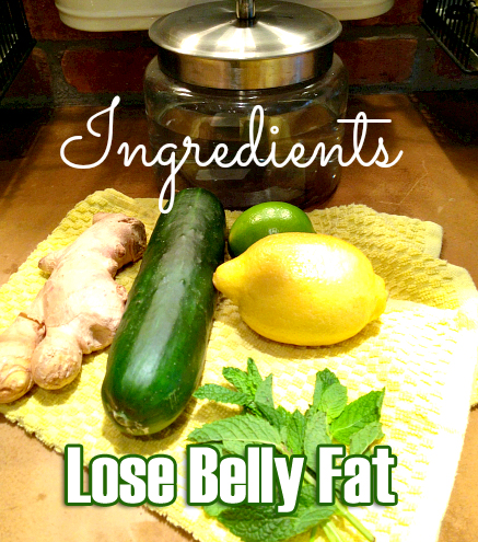 Herbs Infused Water to Lose Belly Fat