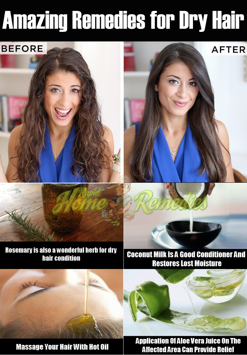 how to make dry hair soft and silky home remedies