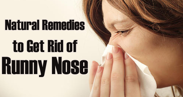 Natural Remedies for Runny Nose
