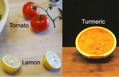 Tomato-Lemon-Turmeric Eye Pack for Dark Circles