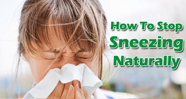 how to get sneezing fast