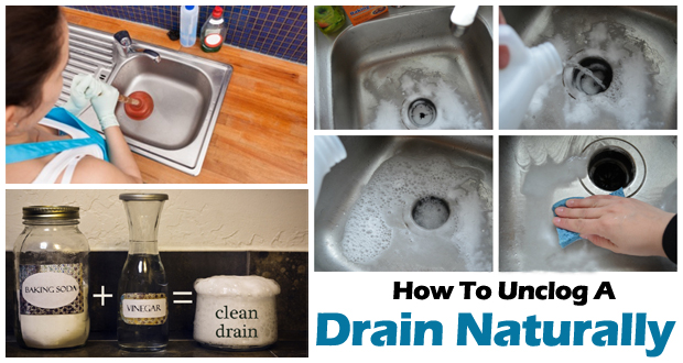How to Unclog a Drain Naturally – Surprise Result
