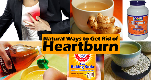 how to get rid of heartburn