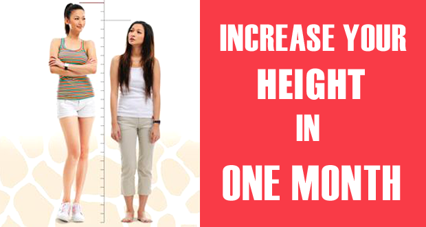 How to Increase Your Height