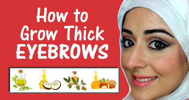 To Grow Thick Eyebrows Naturally - Get thicker eye brows naturally eyebrow growing tips